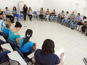 Profissionais do Mais Médicos ficam uma semana em Palmas para conhecer como funciona a atenção básica (Foto: Luciano Ribeiro/ATN)