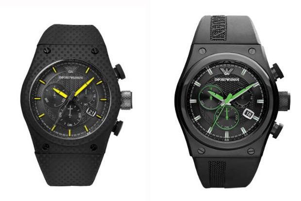 c93da30c3 Armani traz relógio esportivo com pulseira de borracha ao Brasil - GQ |  Relógios