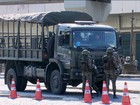 Caminhões do Exército e carros zero km são usados para clonagem