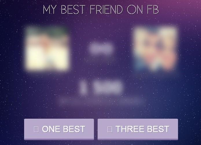 Selecione um ou três amigos (Foto: Reprodução/Aline Jesus)