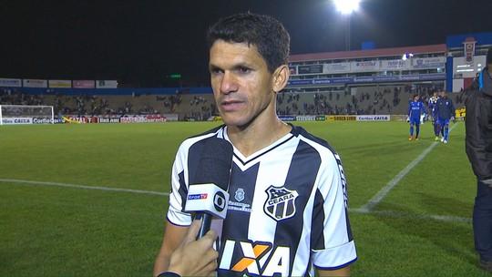 Magno Alves avalia revés diante do Paraná e lamenta jejum de gols