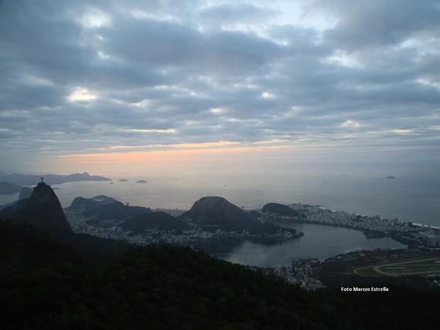 Máxima prevista para este sábado no Rio é de 27ºC (Foto: Marcos Estrella/TV Globo)