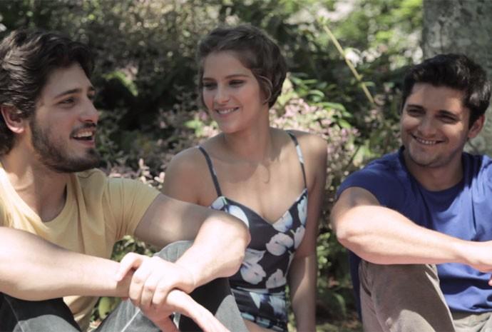 Isabella;Bruno e Daniel (Foto: Divulgação)