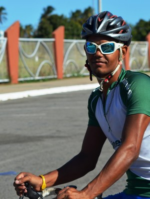 Nilton Soares vai disputar a Volta do Pará no mês de junho (Foto: Felipe Martins/GLOBOESPORTE.COM)