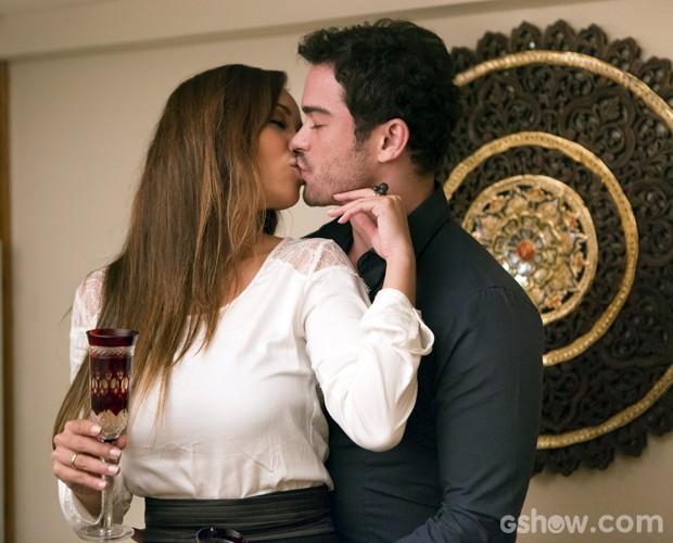 É muito amor! (Foto: Felipe Monteiro / TV Globo)