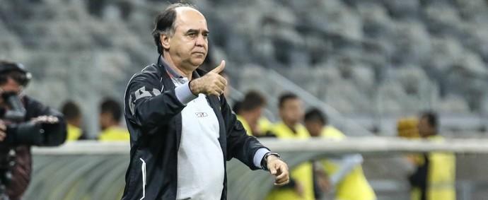 Marcelo Oliveira aprova atuação do Galo, mas vê pontos para melhorar (Foto: Bruno Cantini / CAM)