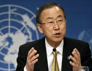 Ban Ki-moon secretário-geral da ONU (Foto: Reuters)