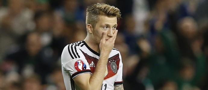 Marco Reus Alemanha Irlanda eliminatórias Euro (Foto: Phil Noble / Reuters)