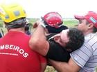 Após três dias perdido em trilha no RN, agricultor é salvo por bombeiros