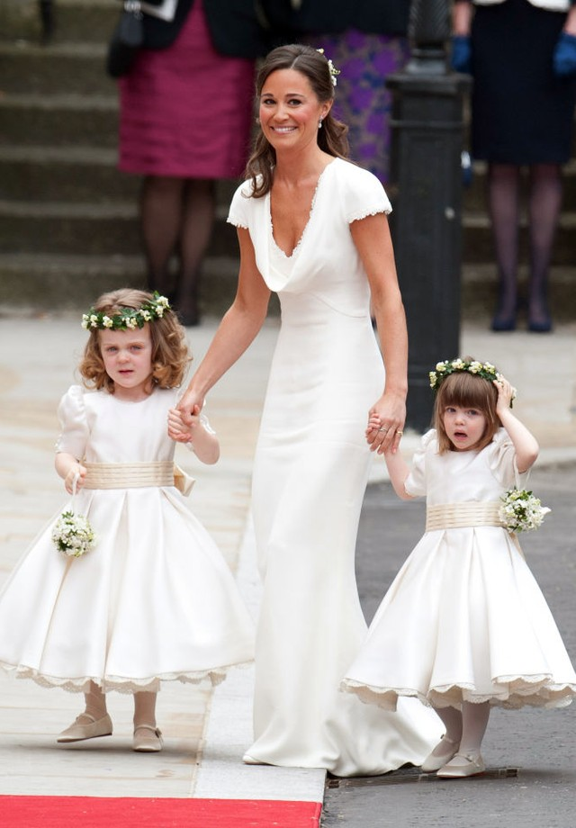 Pippa Middleton no casamento da irmã, Kate Middleton (Foto: Getty Images)