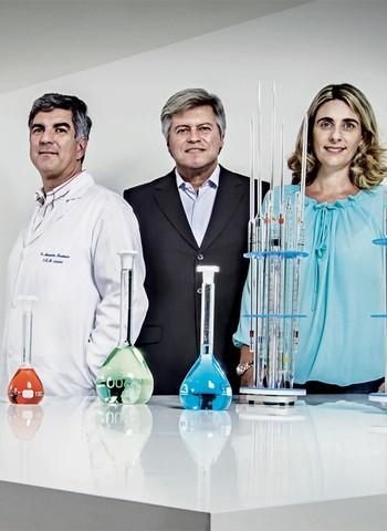 Alexandre, Blanco e Luciana: com o sócio gestor, os fundadores técnicos ficaram liberados para cuidar do que fazem melhor (Foto: Rogério Albuquerque)