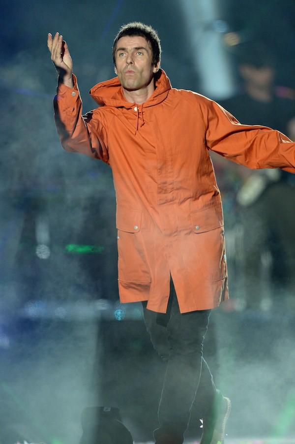 Liam Gallagher no show em homenagem às vítimas do ataque terrorista em Manchester (Foto: Getty Images)