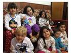 Filho de Neymar, Davi Lucca participa de festa do pijama com amiguinhos