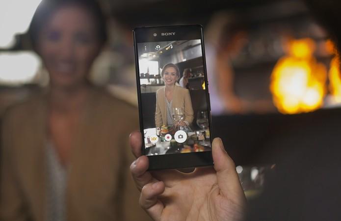 Xperia Z3+ é o novo top de linha da Sony (Foto: Divulgação)