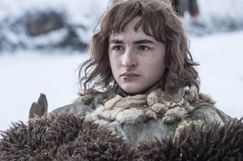 Isaac Hempstead Wright em cena como Bran em 'Game of thrones' (Foto: Divulgação/HBO)