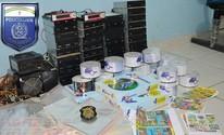 Fábrica de DVDs piratas é fechada (Divulgação/Polícia Civil)