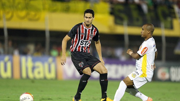 Paulo Henrique Ganso jogo São Bernardo São Paulo (Foto: Alex Silva / Ag. estado)