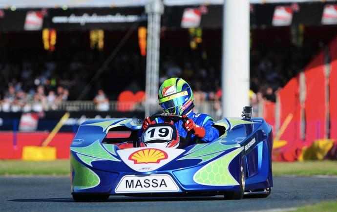 Felipe Massa kart desafio das estrelas (Foto: Duda Bairros / Divulgação)