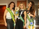 Vencedoras do Miss Brasil se reencontram e falam sobre concurso