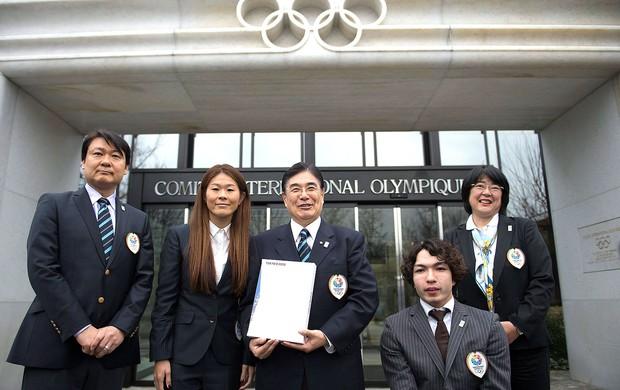 representantes de Tóquio candidatura Olimpíadas 2020 (Foto: AP)