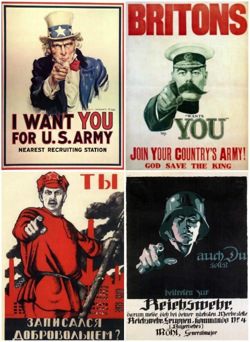 Foto (Foto: Alguns dos cartazes analisados por Carlo Ginzburg no livro / Divulgação)