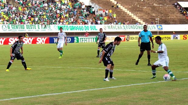 Palmeiras e Ceará (Foto: Fernando da Mata)