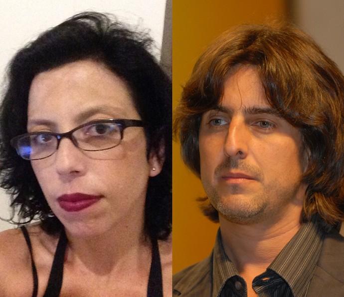 A roteirista Giovana Moraes e o diretor Adriano Melo amaram fazer parte deste projeto (Foto: Reprodução/Zé Paulo Cardeal/TV Globo)