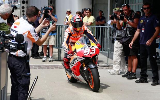 Marc Marquez moto gp Indianapolis (Foto: Agência Reuters)