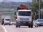 Motoristas desobedecem proibição do trânsito de caminhões em Palmas