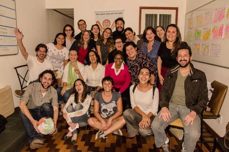 Equipe da ONG Argilando (Foto: Arquivo Pessoal)