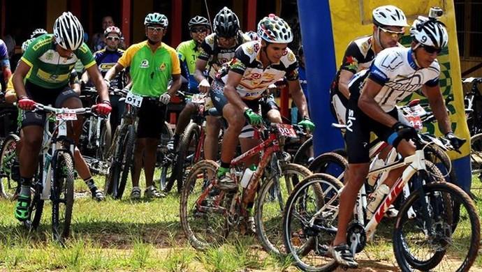 3ª etapa do Campeonato Acreano de Mountain Bike (Foto: FAC/Divulgação)