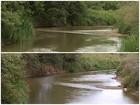 Rio Itapetininga salta de 60 cm para 4 metros de profundidade após chuvas