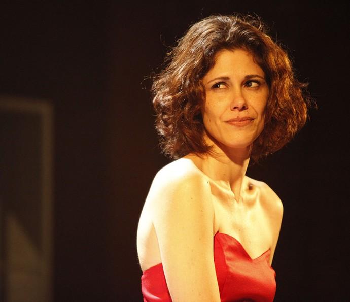 Juliana Martins caracterizada para 'Cenas de um Casamento' (Foto: Arquivo pessoal)