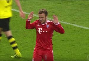 Mario Götze Bayern Borussia Dortmund (Foto: Reprodução / YouTube)