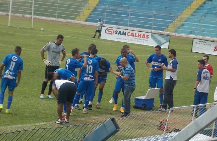 Rafael Guanaes, técnico do São Carlos (Foto: Rovanir Frias / Assessoria SCFC)