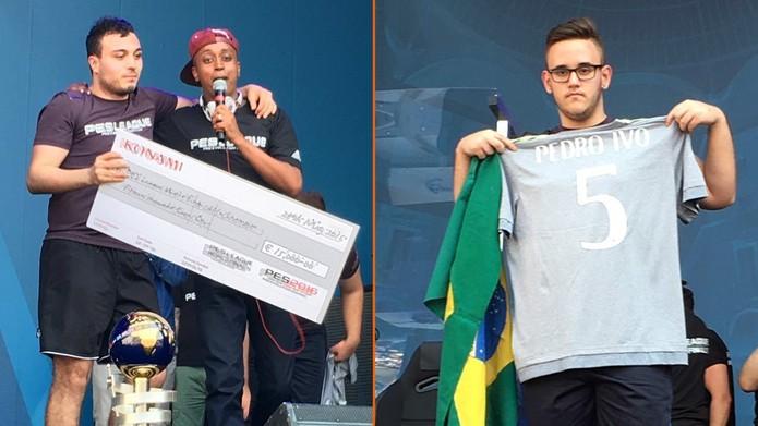 usmakabyle recebe premiação; GuiFera15, vice; faz homenagem ao jornalista Pedro Ivo (Foto: Reprodução/Twitter/Konami)