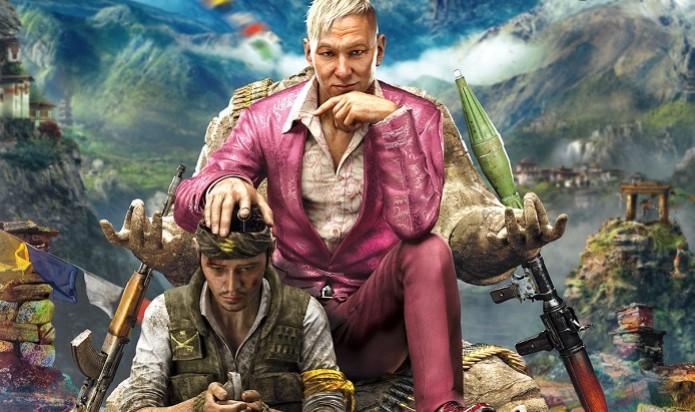 Far Cry 4 terá Pagan Min como vilão, o auto-intitulado rei de Kyrat. (Foto: Divulgação) (Foto: Far Cry 4 terá Pagan Min como vilão, o auto-intitulado rei de Kyrat. (Foto: Divulgação))