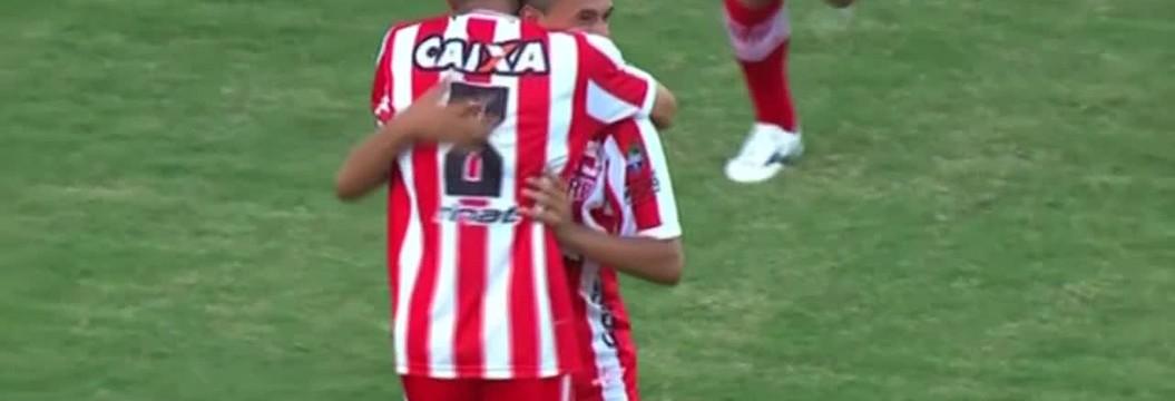 Veja o gol do CRB diante do  Londrina, na estreia da Série B