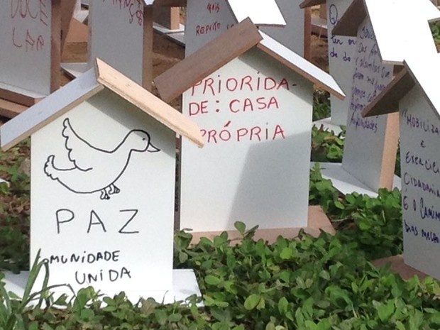 Evento dos três anos da tragédia em Teresópolis 2 (Foto: Guilherme Peixoto/Intertv)