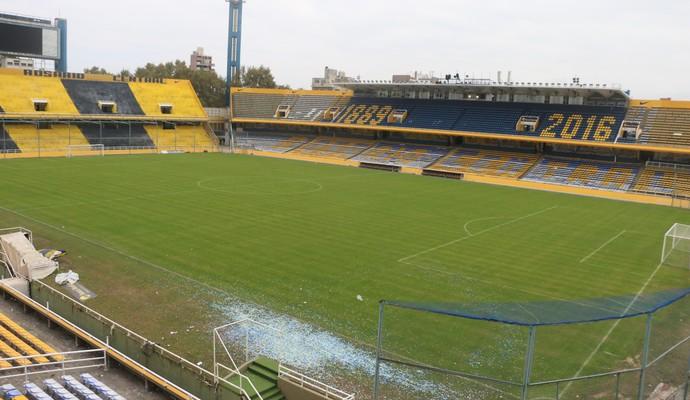 Gigante de Arroyito Rosario Central Grêmio Libertadores (Foto: Eduardo Moura/GloboEsporte.com)
