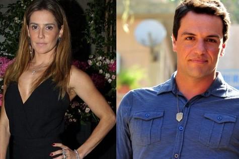 Deborah Secco e Rodrigo Lombardi (Foto: TV Globo)