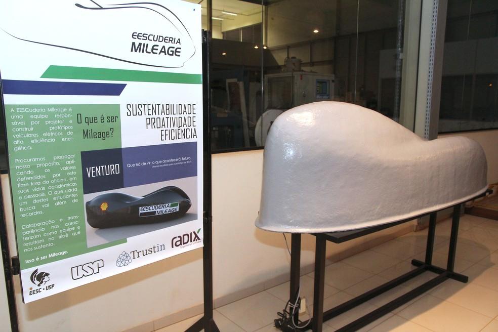 Projeto do Protótipo Venturo deve ser concluído no próximo mês (Foto: Fabio Rodrigues/G1)