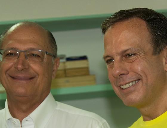 Alckmin e João Dória. (Foto: Agencia O Globo)
