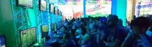 TEM GAMES contabiliza mais de 200 partidas em um só dia (Ednan Gomes/G1)