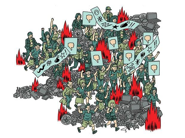 Reputação (Foto: Ilustração: Gabriel Góes)