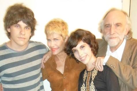 Doris em família (Foto: Arquivo pessoal)