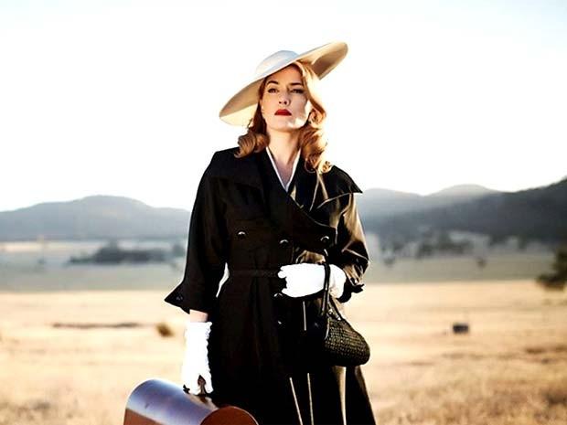 """Cena do filme """"A vingança está na moda"""", com a atriz Kate Winslet (Foto: Reprodução)"""