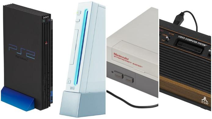 Conheça os videogames mais bem sucedidos em cada uma das sete gerações anteriores (Foto: Montagem/Filipe Garrett)