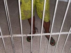 Homem foi preso suspeito de estuprar a própria filha no Espírito Santo (Foto: Glacieri Carrareto/ A Gazeta)