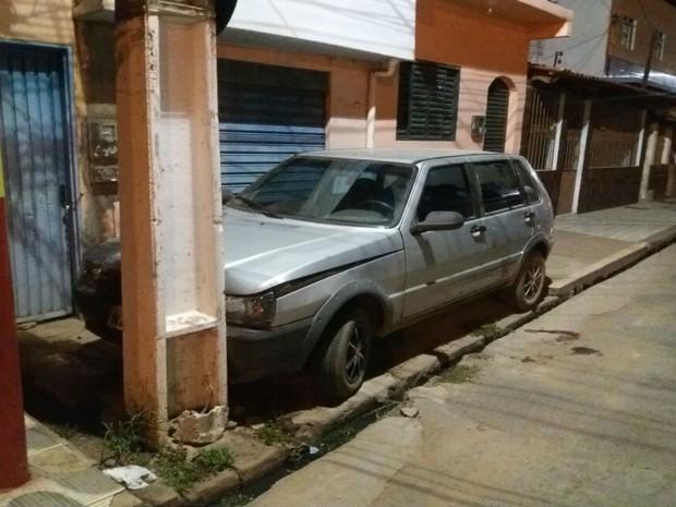 Bombeiro foi morto ao socorrer homem que havia batido carro em poste (Foto: Blog do Sigi Vilares)
